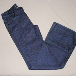 7 For All Mankind Ginger Dark Wash Patch Jeans 31